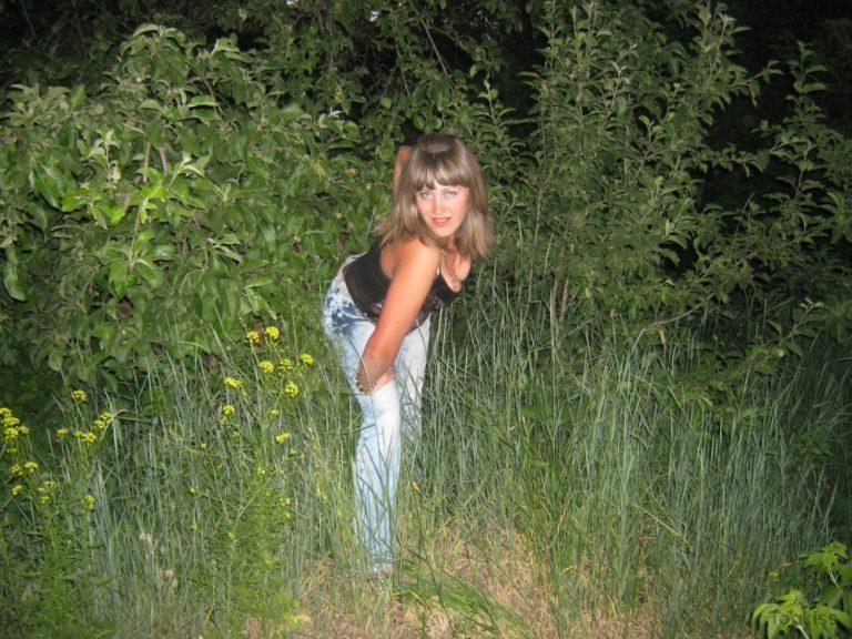 jojo_nice – Blonde Teen Wald geerdete Mädchen